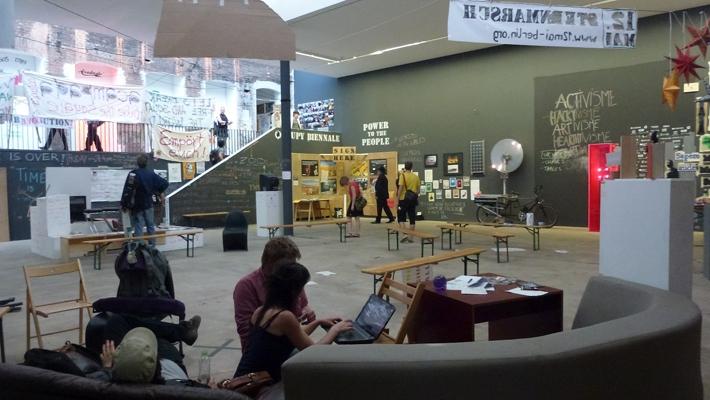 Occupy Berlin Biennale. April – July 2012, Berlin, Germany.