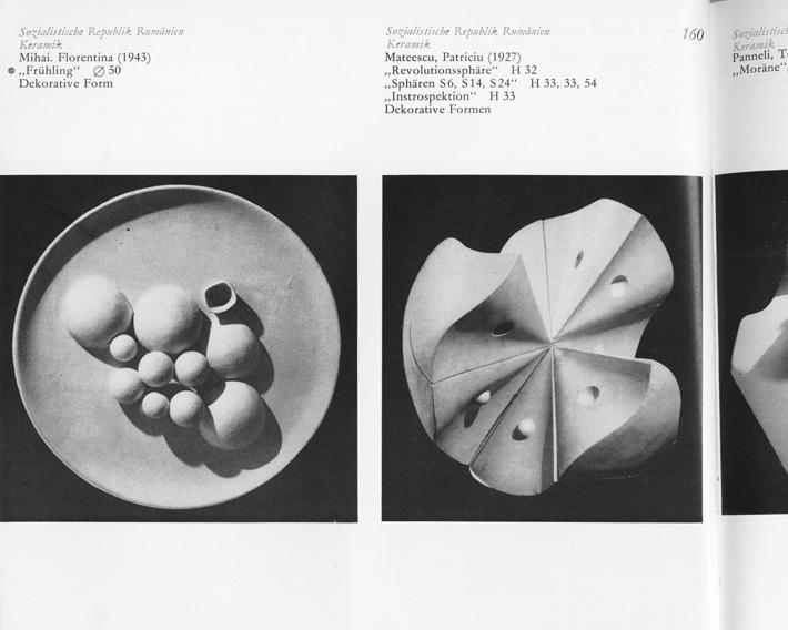 Herbert Schönemann. 1. Quadriennale Des Kunsthandwerks Sozialistischer Länder—Erfurt 1974. Erfurt; DEWAG, 1974. Image from the First Quadrennial for Arts and Crafts of the Socialist Countries.
