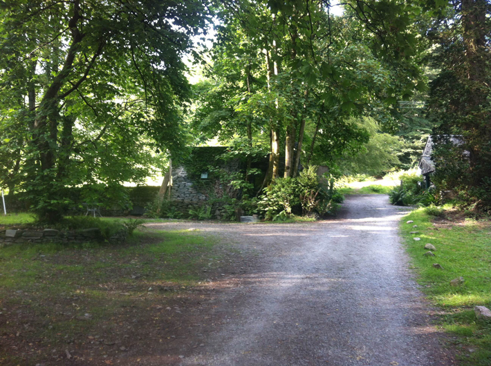 Cylinder's Estate Entrance, 25 July 2014 at the Merz Barn. Photo courtesy of the author.