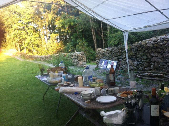 Merz Barn Hospitality, 25 July 2014. Photo courtesy of the author.