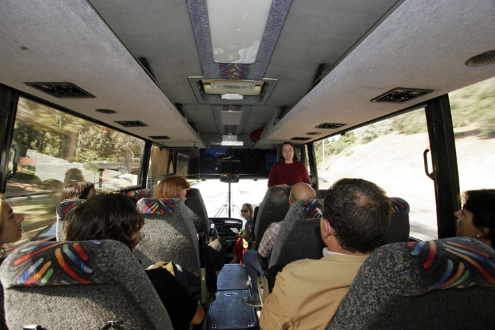 On the bus to Murphy Canyon, 2005. Image courtesy of Althea Thauberger.