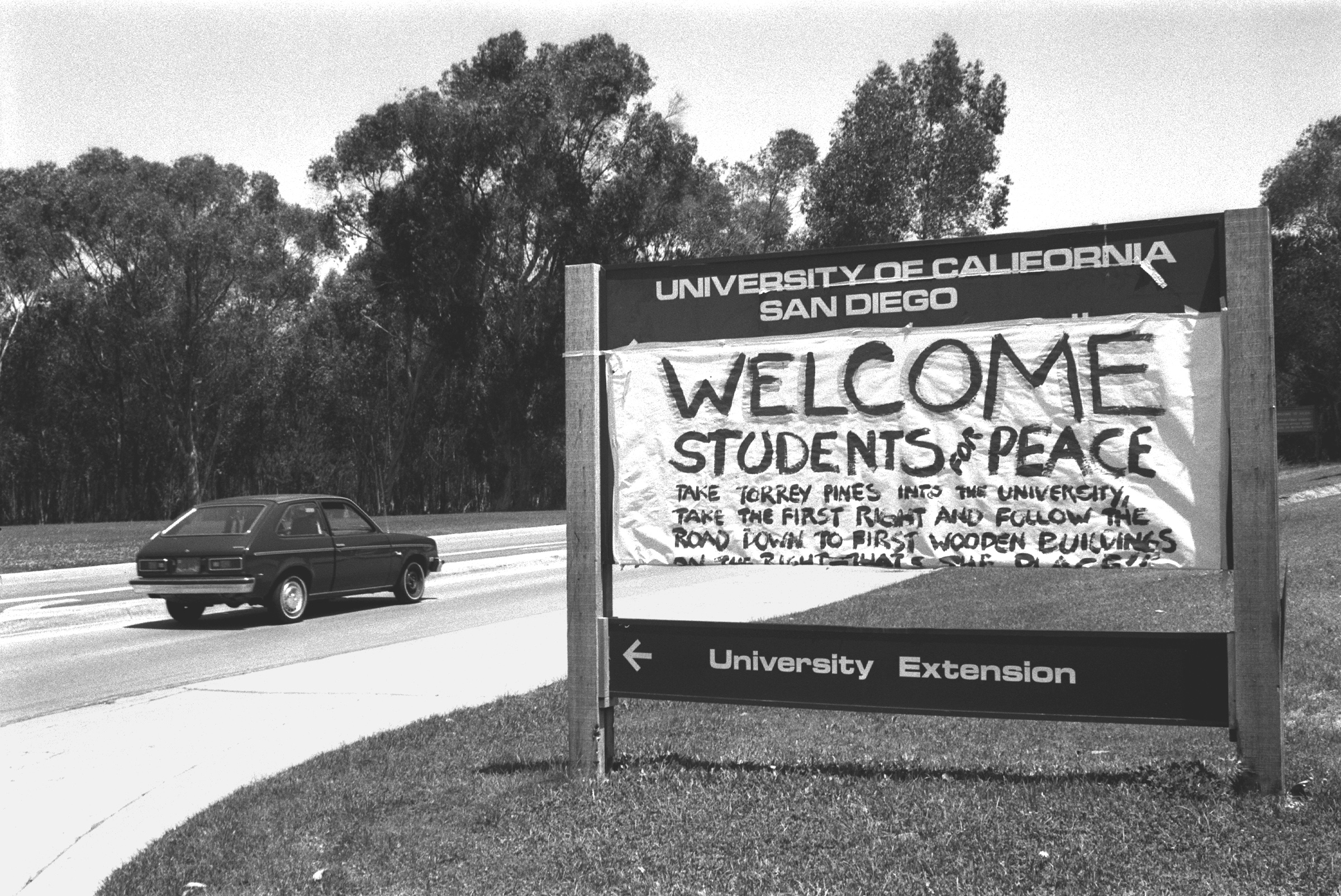 [Image 2. Anti war poster at the University of California, San Diego, 1970. Credits: Fred Lonidier]