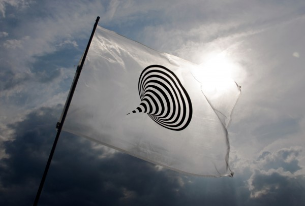 [Image 15. Naohiro Ukawa, flag design for Don't Follow the Wind, 2015, courtesy of Don't Follow the Wind.]